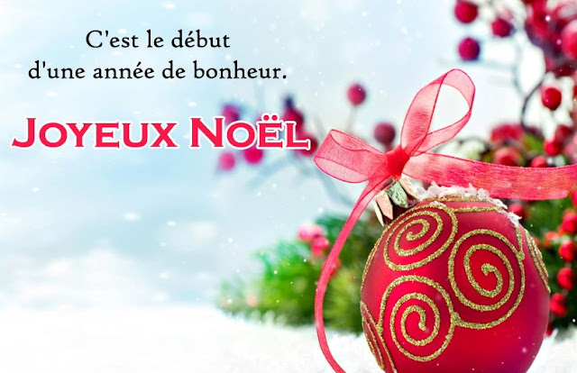 Christmas Greetings Wishes Messages in French