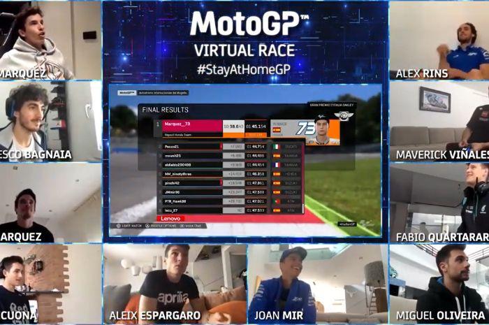 Daftar Pembalap Ikuti MotoGP Virtual Race