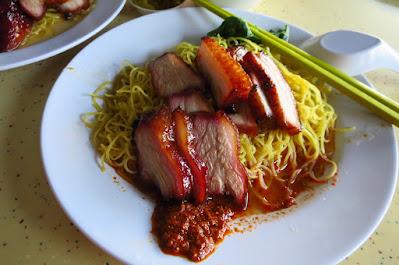 Zhong Yu Yuan Wei Wanton Noodle (忠于原味云吞面), wanton mee 不见天