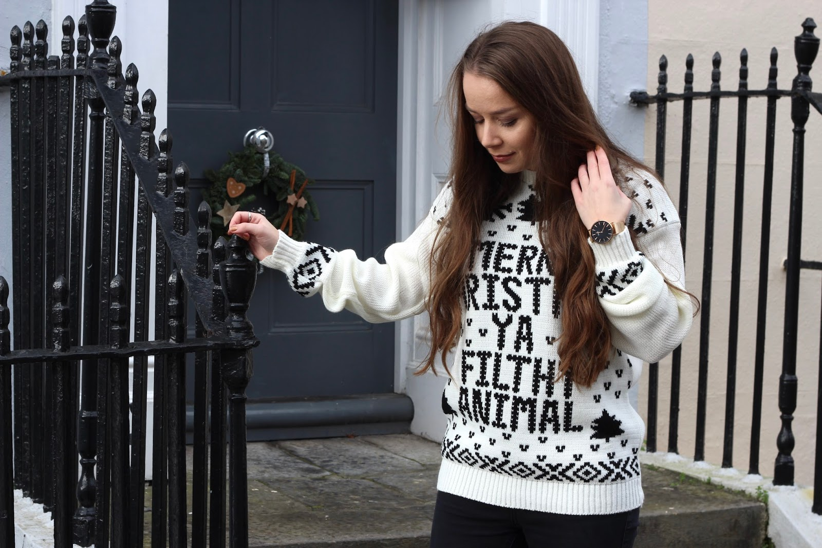 merry-christmas-ya-filthy-animal-jumper