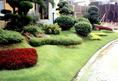 Jasa Tukang taman Tuban Gambar Taman Klasik