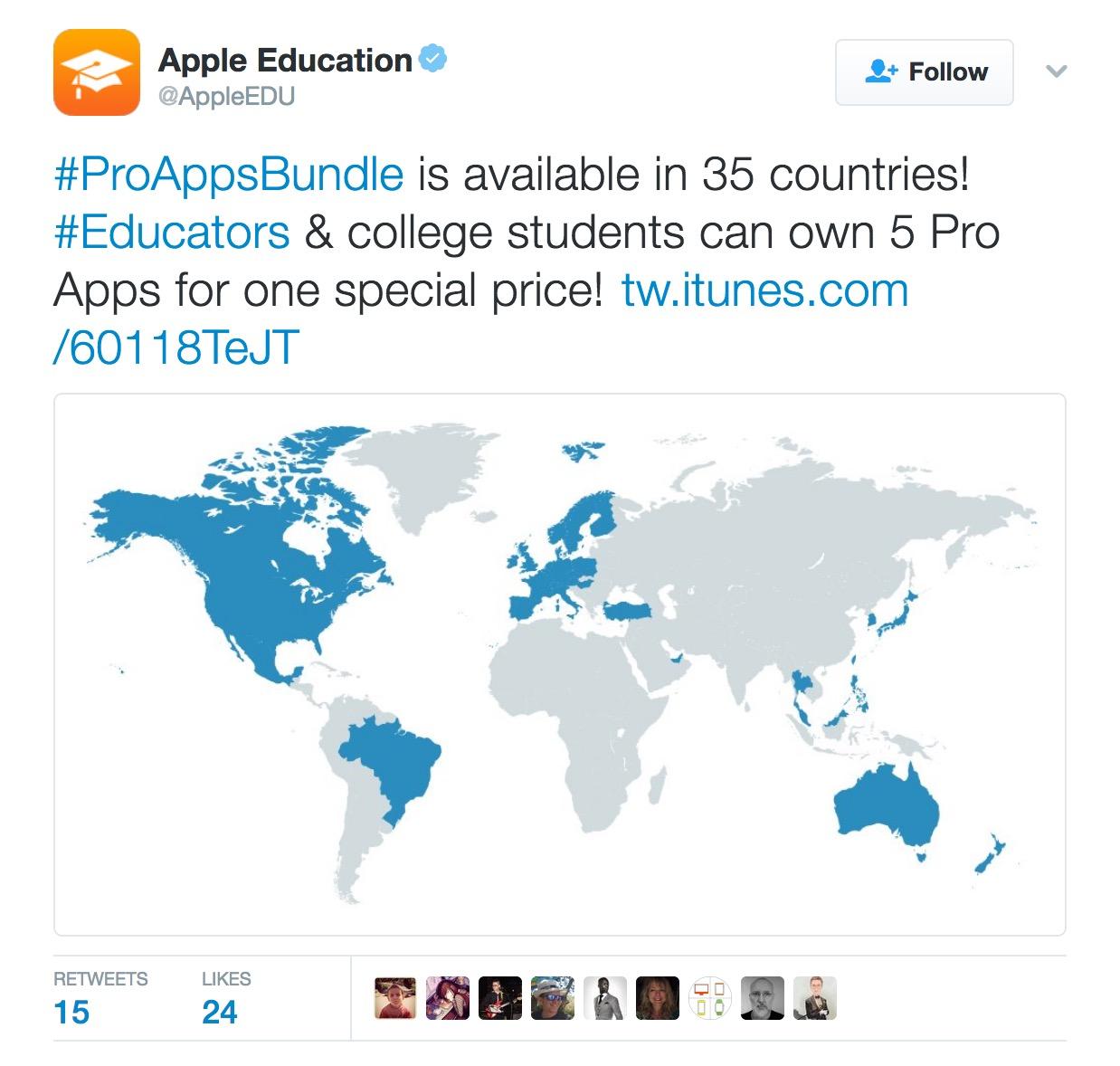 Imacservi proappsbundle est disponible en 35 pases educadores y estudiantes universitarios pueden poseer 5 apps pro por un precio especial gumiabroncs Images