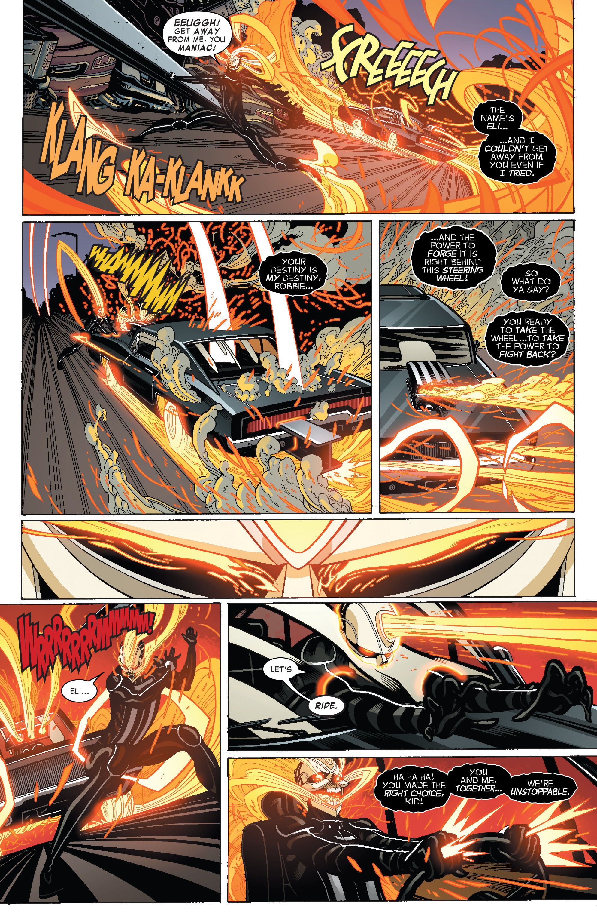 Read online All-New Ghost Rider comic -  Issue #3 - 6