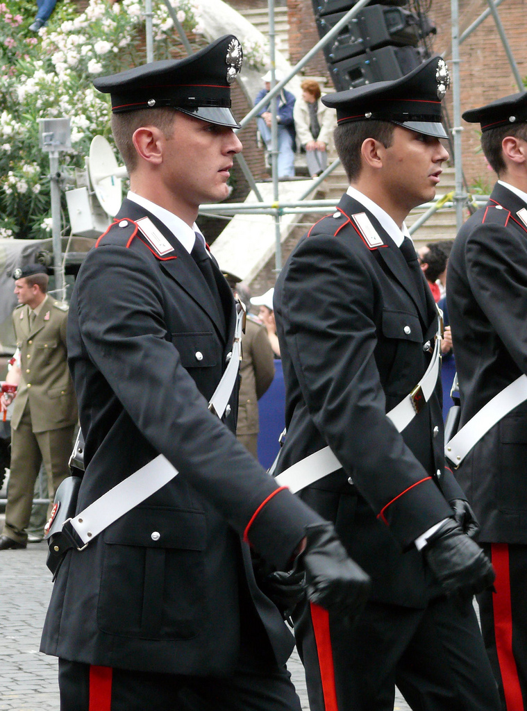 Half Windsor Full Throttle Stylish Italian Police