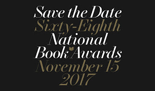 Save the Date Sixty-Eighth National Book Awards November 15 2017