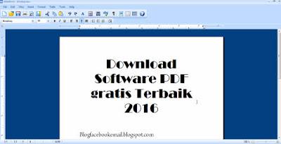 Download software PDF editor gratis terbaik terbaru Abelword