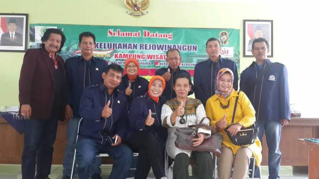 LPM Rancanumpang Studi Banding ke Rejowinangun Yogyakarta
