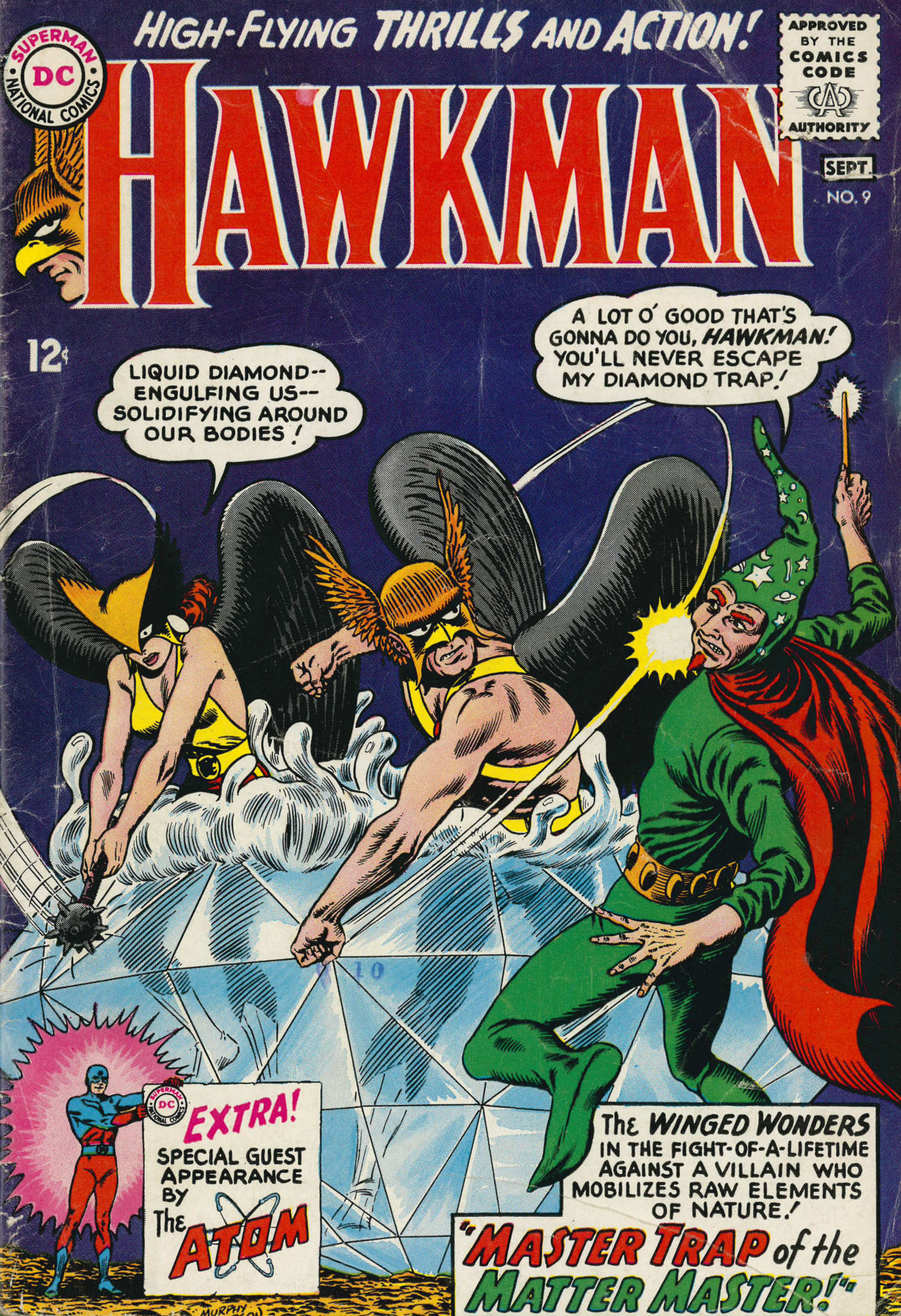 Hawkman (1964) issue 9 - Page 1