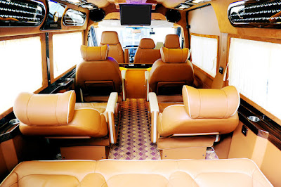 luxury sapa bus
