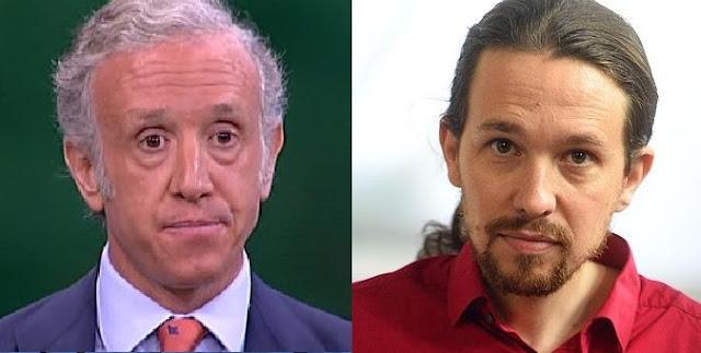 Eduardo Inda y Pablo Iglesias