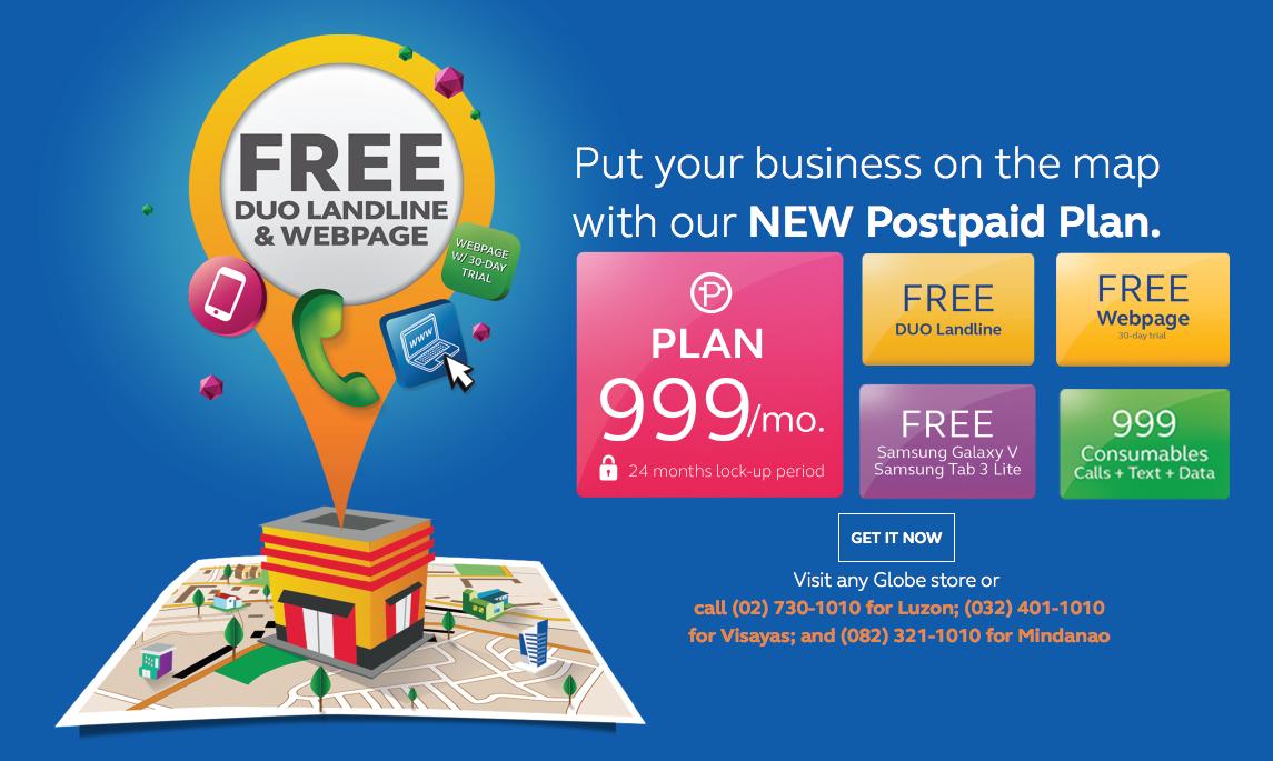 globe business plan 299 for globe
