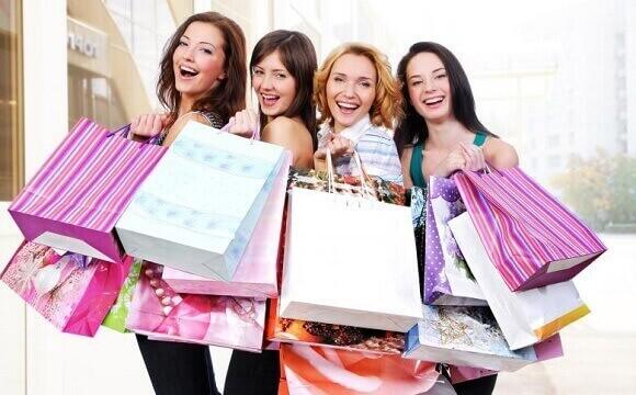 Women, and, Shopping