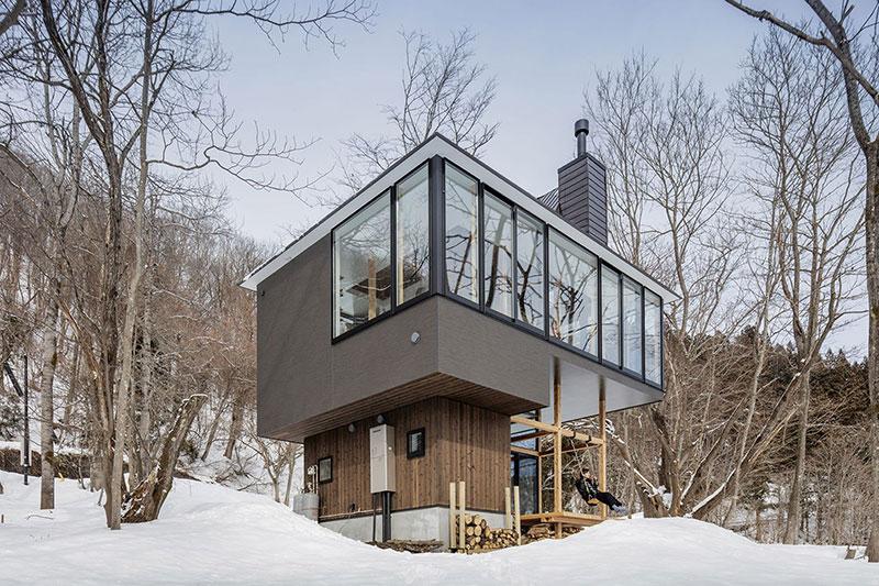 Sugawaradaisuke-07 Nojiri-ko Nature Platforms House by Sugawaradaisuke Design