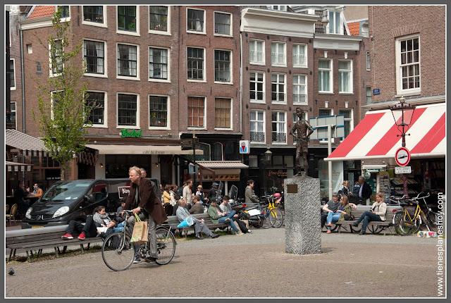 Plaza Spui Amsterdam (Paises Bajos)