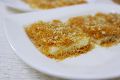 kunafa with vermicelli stove top kunafa
