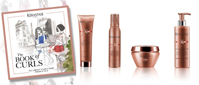 Kerastase Canada giveaway book of curls discipline curl collection