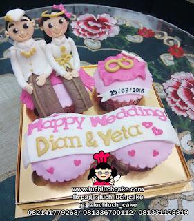 Cupcake Wedding Kado Pernikahan