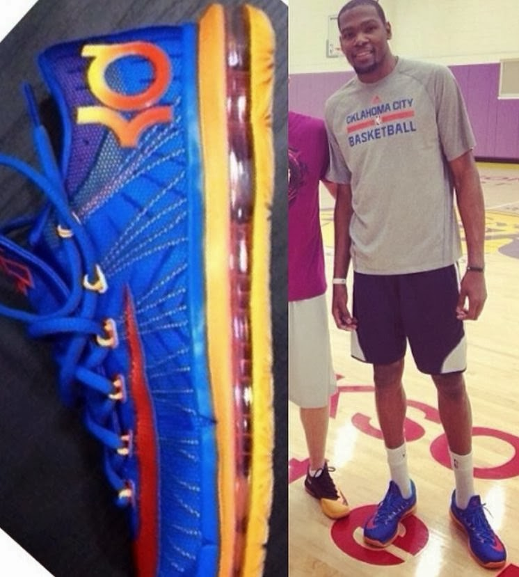 6a19d0d25db Celeb Sneaker Game  Kevin Durant Wearing Nike KD 6 Elite Sneakers