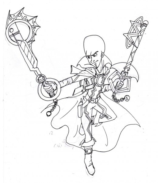 Fun Coloring Pages: Superhero Megamind Coloring Pages