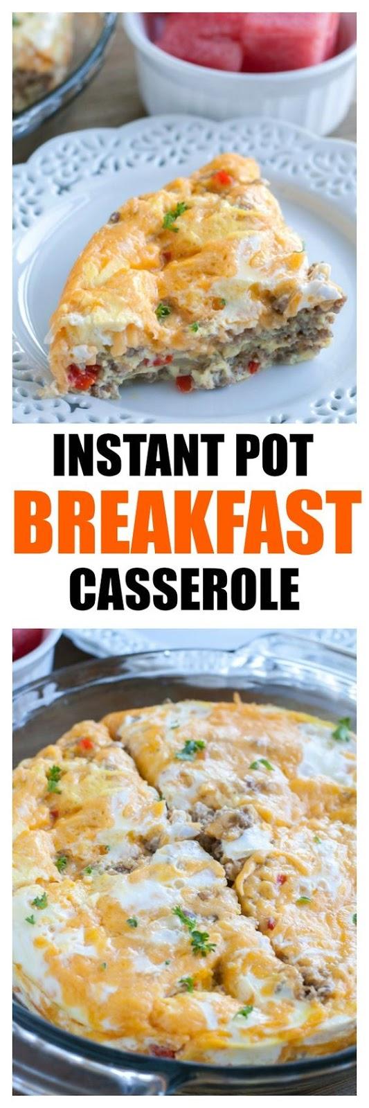 Instant Pot Breakfast Casserole