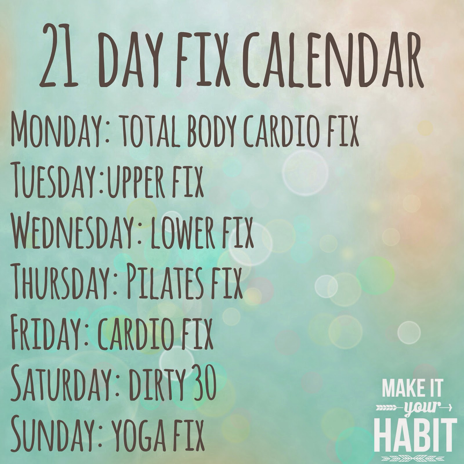 Healthy Happy Amp Gluten Free Making 21 Day Fix Easier With Shared Cheat Sheets