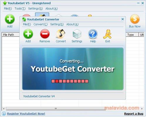 تحميل برنامج YoutubeGet 7.2.6.1 لتحميل الفيدوهات من اليوتيوب إلى الكمبيوتر 2019