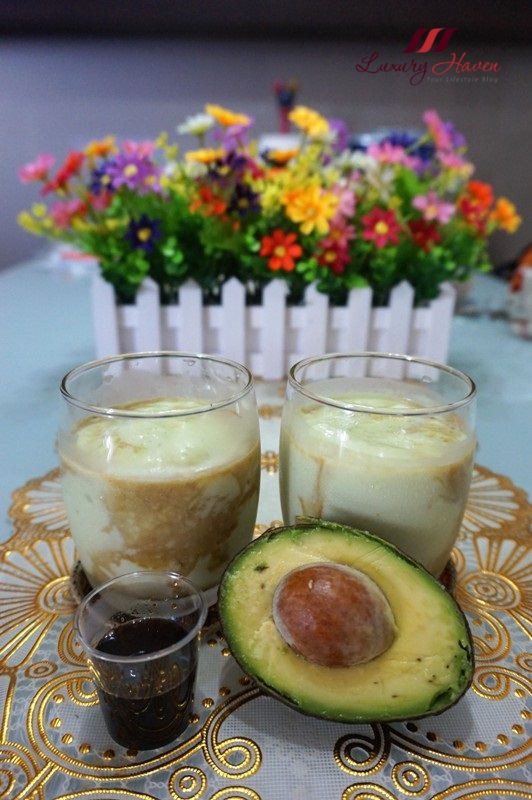 indonesian avocado shake with gula melaka recipe