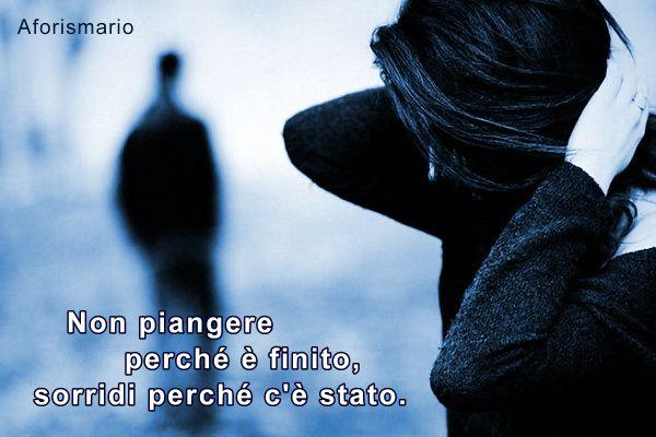 Popolare Aforismario®: Amore finito - Aforismi, frasi e citazioni IU69