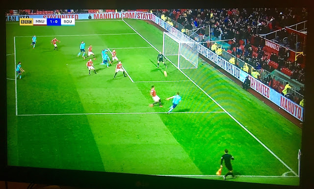 Manchester United v Bournemouth GDPT StayUnited advertising