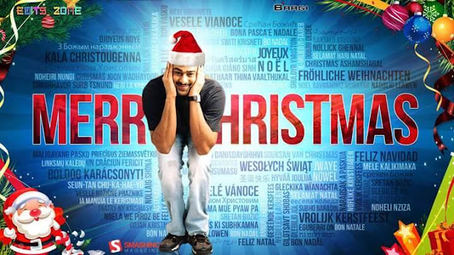 Prabhas Wishing everyone a very merry Christmas