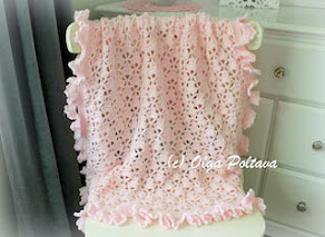 Lace Cupcakes Baby Blanket Pattern, $5.99