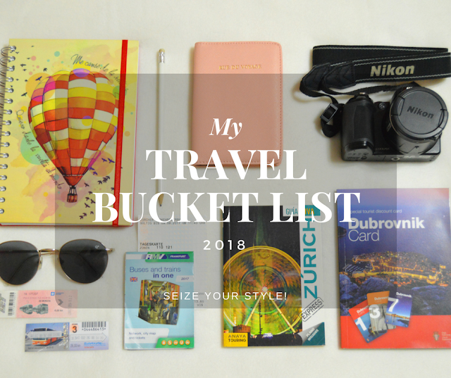 Travel Bucket List Seize your Style