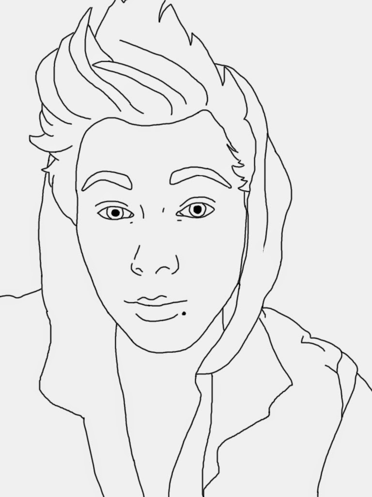 celebrities coloring pages - photo#10