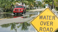 Coastal flooding in Florida. (Credit: Dorothy Zimmerman, Florida Sea Grant/Flickr) Click to Enlarge.