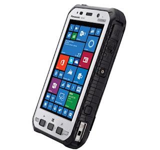 Ponsel Panasonic Toughpad FZ-E1 tahan banting 2016