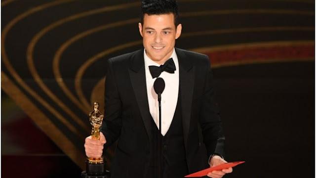 جائزة الأوسكار لأفضل ممثل رامى مالك