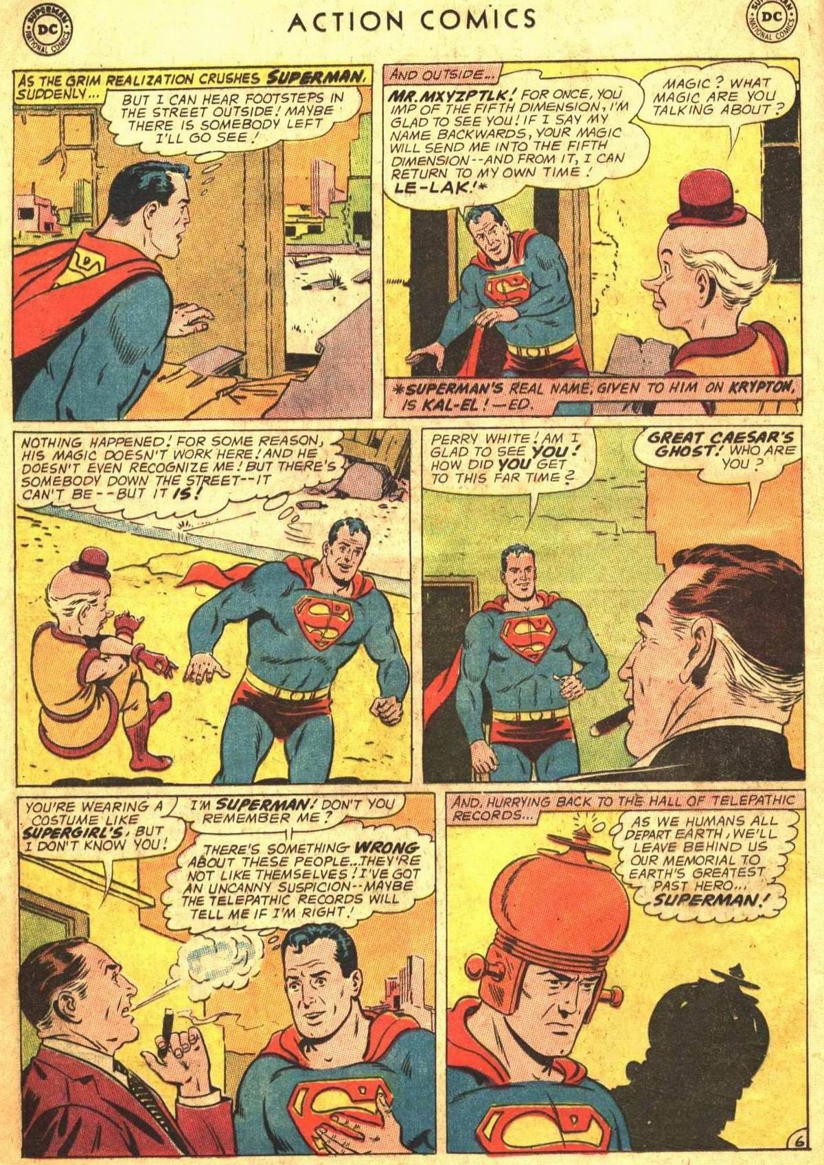 Read online Action Comics (1938) comic -  Issue #300 - 8