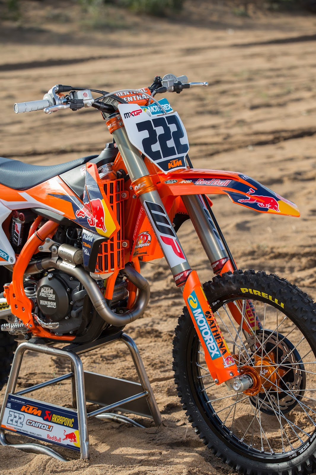 Racing Cafè: KTM SX-450F Team Red Bull KTM Factory Racing ...