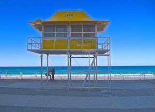 Surfers Paradise Beach lifeguard tower2010