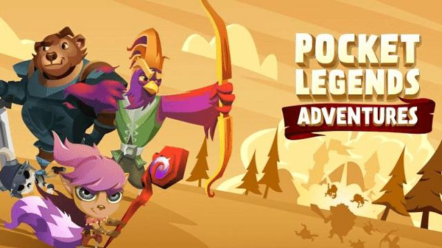 pocket legends memiliki karakter unik berbentuk hewan yang funny