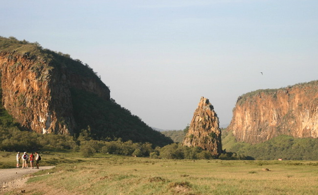 Xvlor Hell's Gate National Park is narrow gap and volcanic in Rift Valley