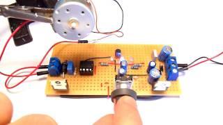 التحكم في سرعة محركات التيار المستمر