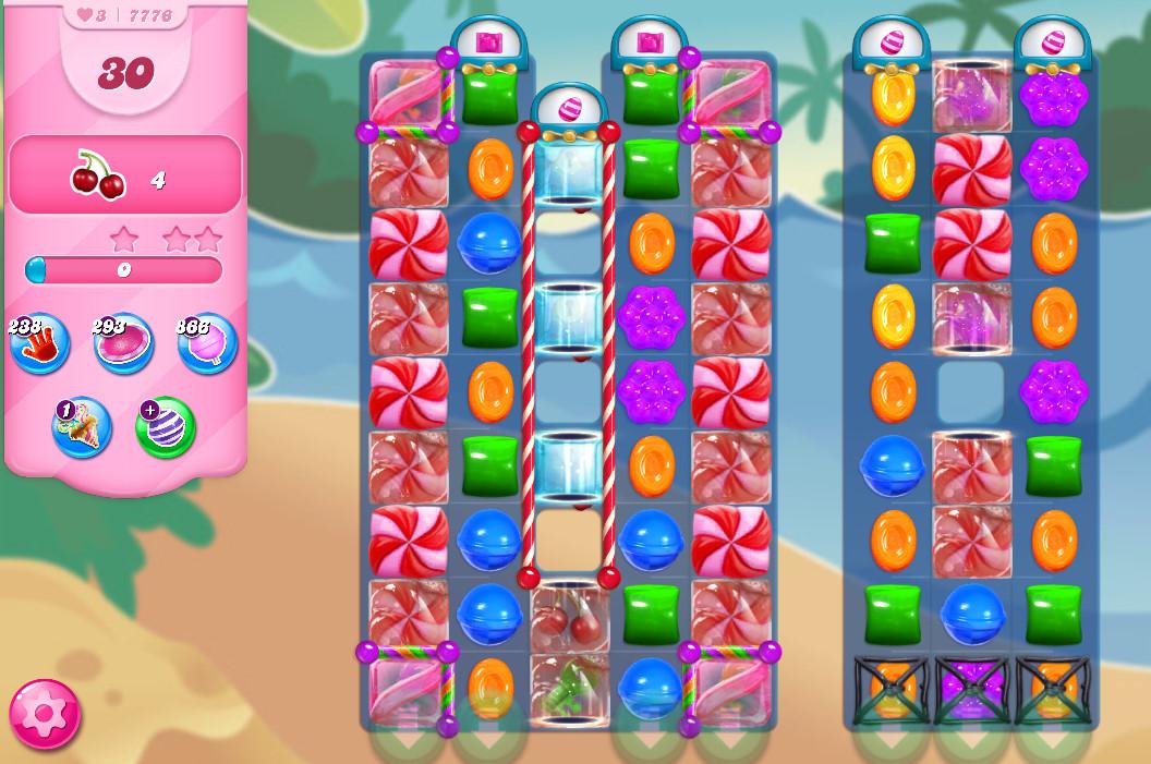 Candy Crush Saga level 7776