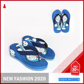 MRTT178S117 Sandal Spons Wedges Doraemon Keren BMGShop