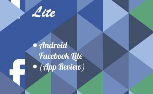 Facebook lite app review