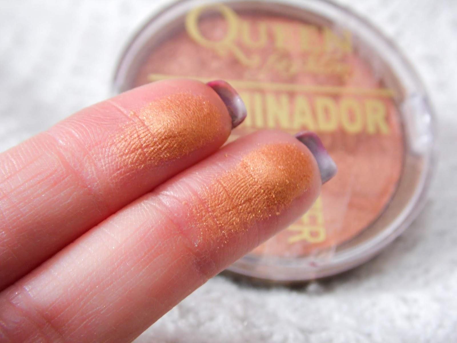 resenha Pó bronzer iluminador da Queen Fashion