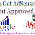 How To Get AdSense Account Approved