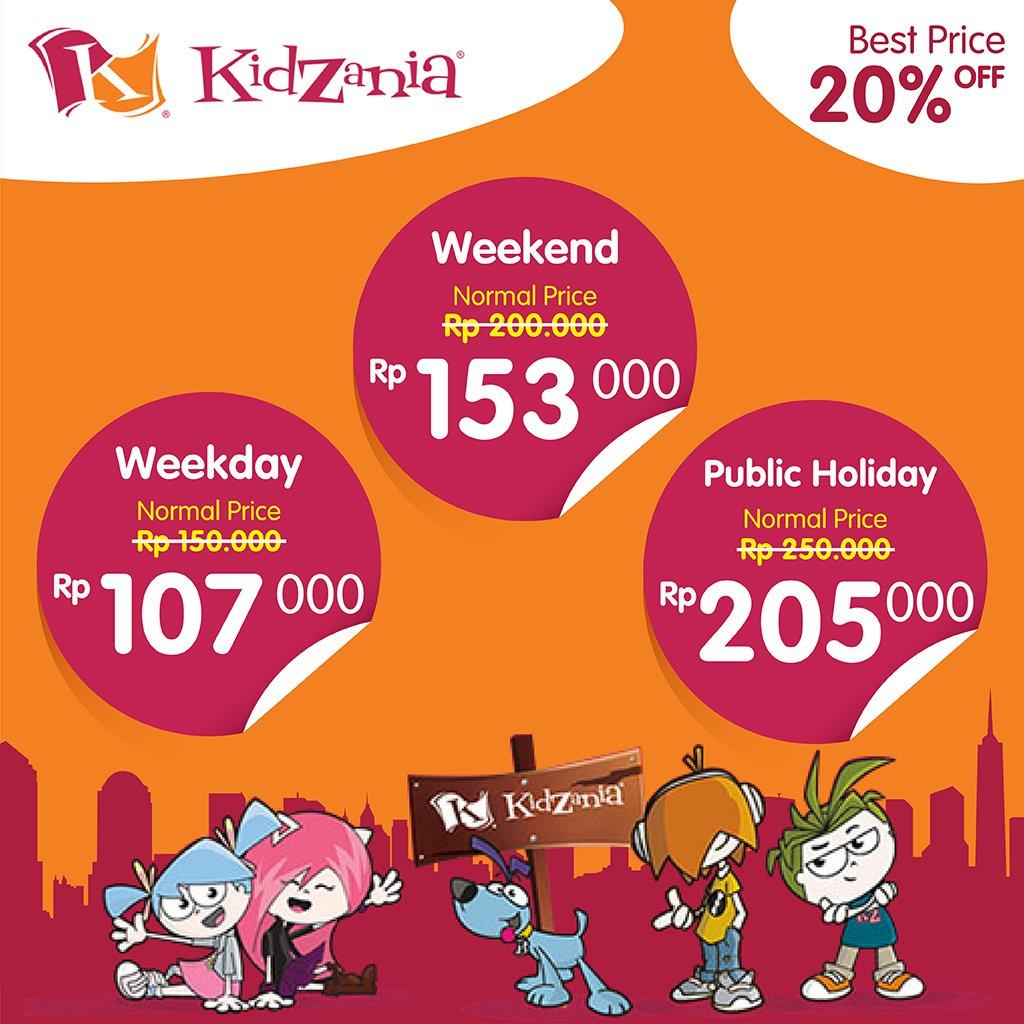 Tiket Com Promo Diskon Tiket Kidzania Promosi247 Tempatnya Info Promosi Diskon Terbaru