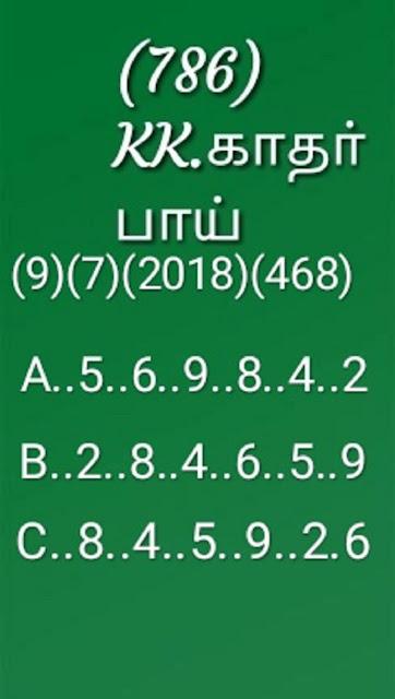 kerala lottery abc all board guessing on 09-07-2018 win win w-468 by KK