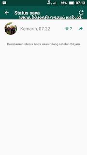 cara melihat view status di whatsapp terbaru